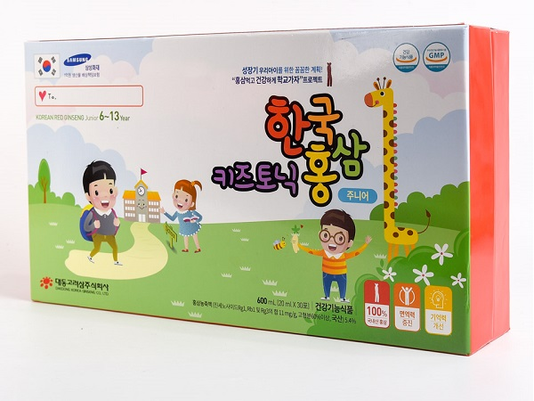 Hồng sâm trẻ em 6-13 tuổi – Korean red ginseng junior