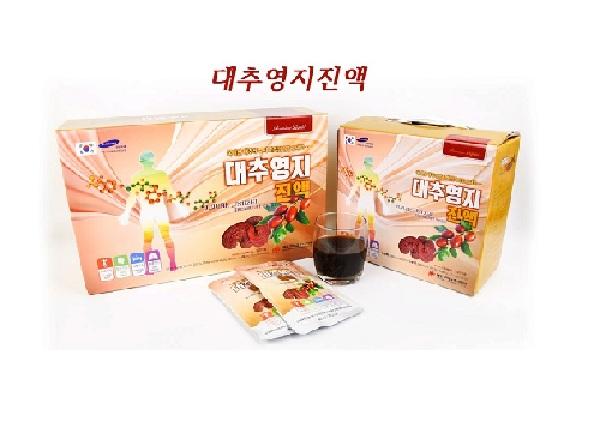 Tinh chất Linh Chi Táo Đỏ Hàn Quốc Daedong hộp 30 gói