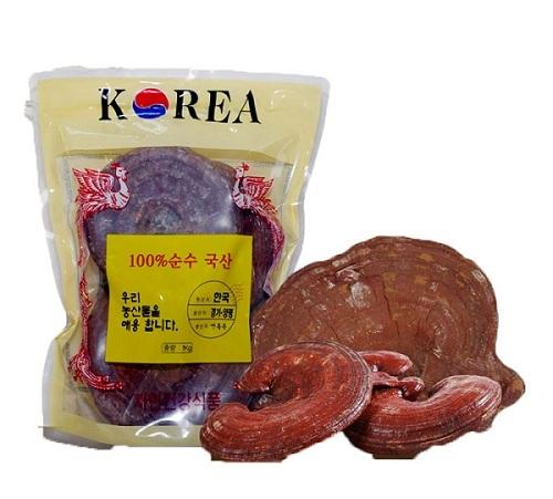 Nấm Linh Chi tai đỏ (3-6 tai) Hàn Quốc 1kg