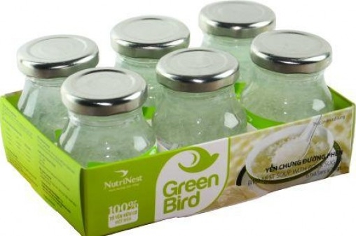 Nước Yến Green Bird lốc 6 lọ 75gr – Nutri