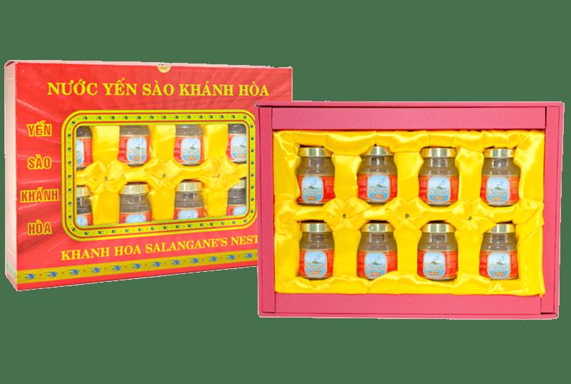 Nước yến Sanest Khánh Hòa hộp 8 lọ 70ml – Nutri