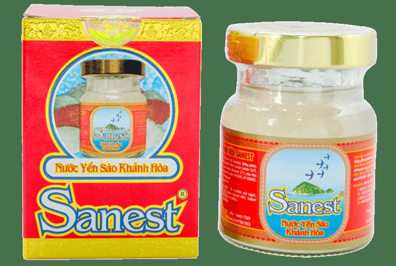 Nước yến Sanest Khánh Hòa lọ đơn 70ml – Nutri