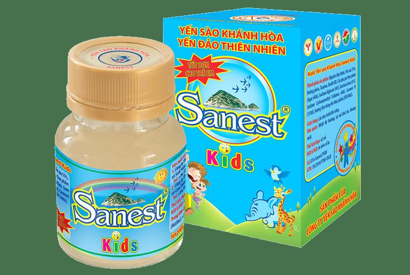 Nước Yến Trẻ Em Sanest Kids Khánh Hòa 62ml - Nutri