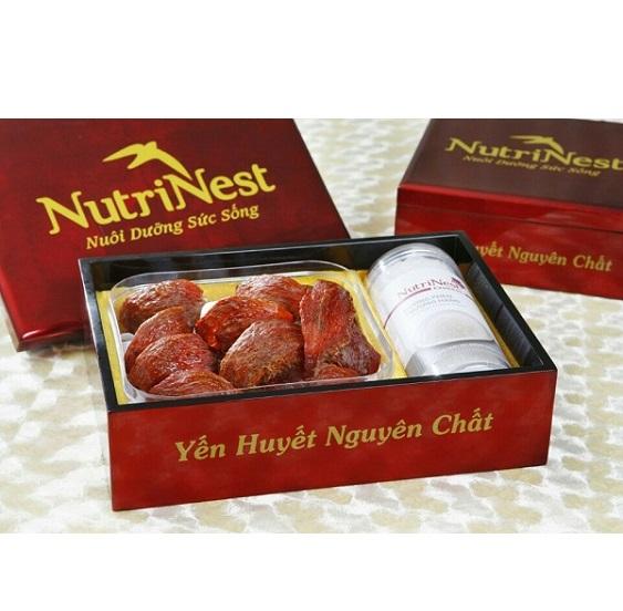 NutriNest - Yến Huyết Đảo Thiên Nhiên 100g