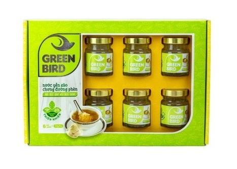SP Organic - Nước Yến Green Bird hộp quà 6 hũ 72gr – Nutri