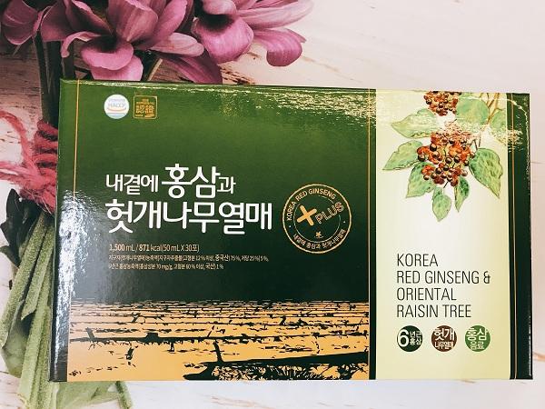 Tinh chất Bổ Gan Hồng Sâm Hàn Quốc