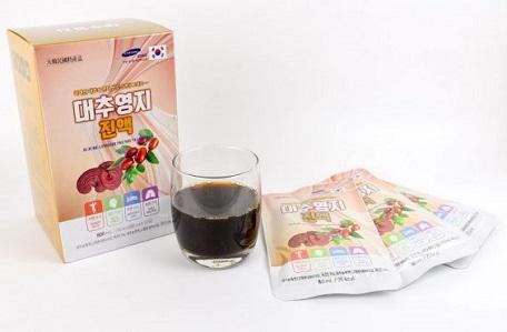 Nước Linh Chi Táo Đỏ Hàn Quốc Cao Cấp Hộp 30 Gói – Nutri.vn