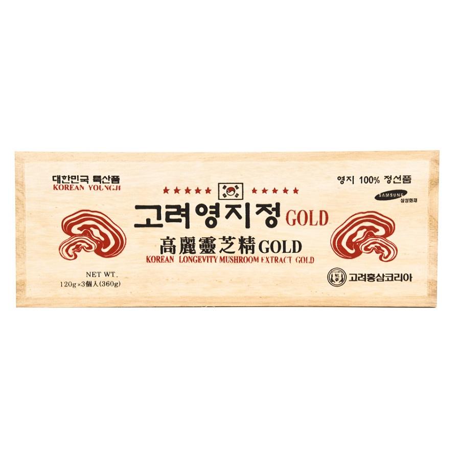 Cao Linh Chi Đỏ Cô Đặc Hàn Quốc Extract Gold - Nutri