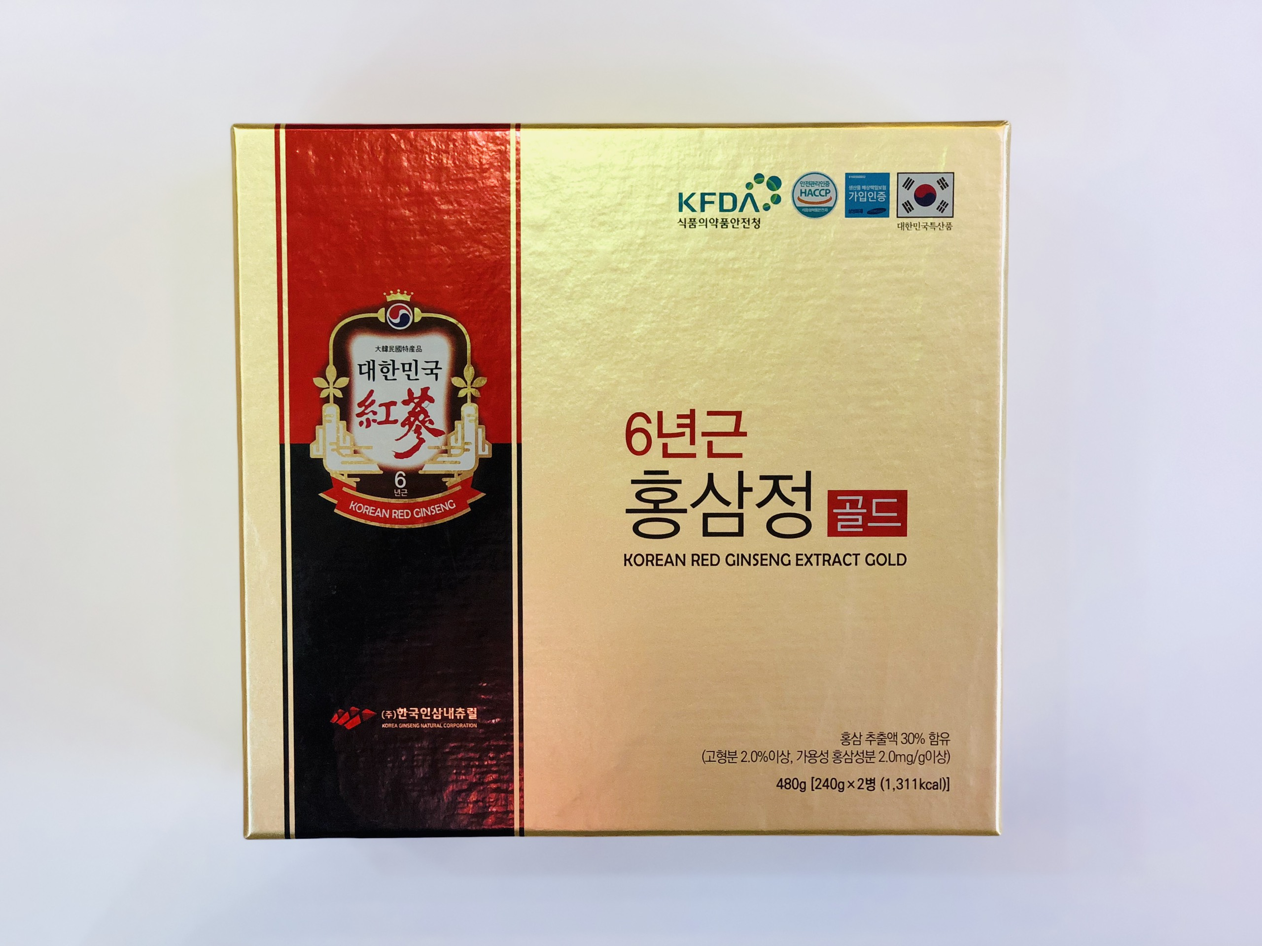 Cao hồng sâm Red Ginseng Extract Gold 2 lọ - Nutri