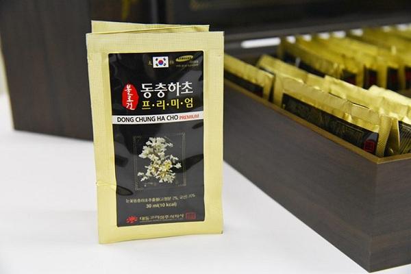 TINH CHẤT ĐÔNG TRÙNG HẠ THẢO DAEDONG DONG- CHUNG HA CHO ISARIA JAPONICA GOLD