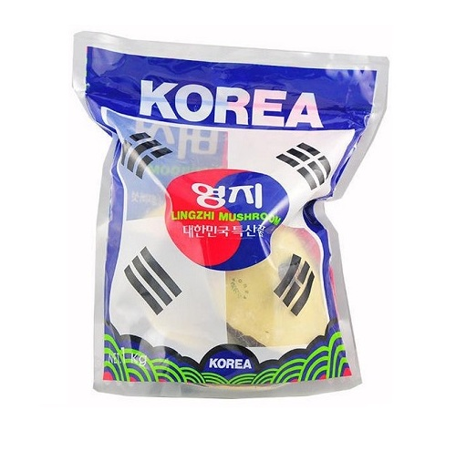 Nấm Linh Chi đỏ LINGZHI MUSHROOM Hàn Quốc 1kg