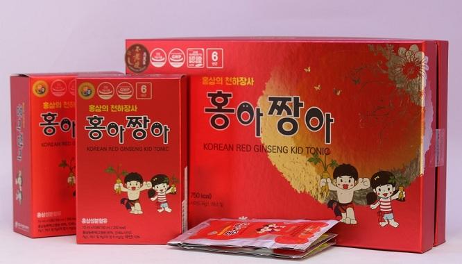 Quà tặng Hồng sâm trẻ em Daedong Kid Tonic 450ml