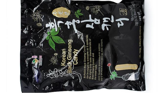 Quà tặng Kẹo Hắc Sâm Hàn Quốc - 250g