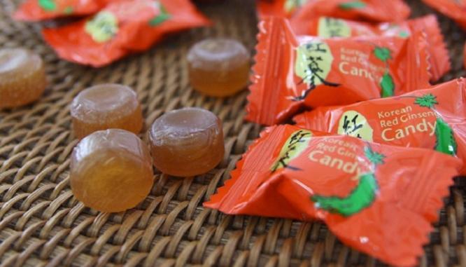 Quà tặng Kẹo Hồng Sâm Hàn Quốc gói - 500g
