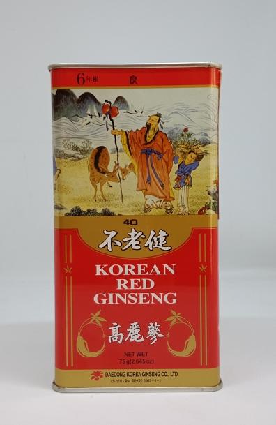 Hồng sâm Hàn Quốc 6 năm tuổi 75gr – số 40 – Nutri