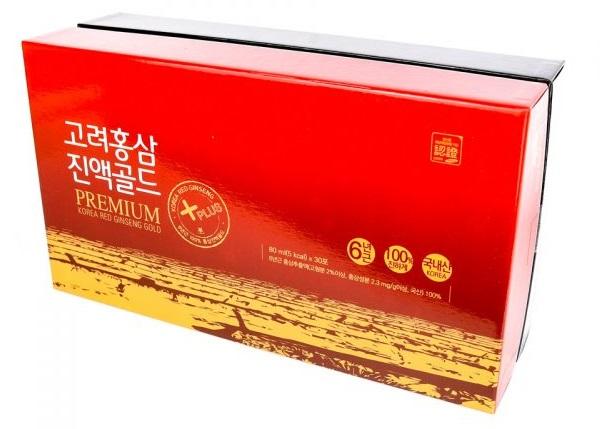 Nước Tinh chất Hồng sâm Hàn Quốc 6 năm tuổi - Nutri