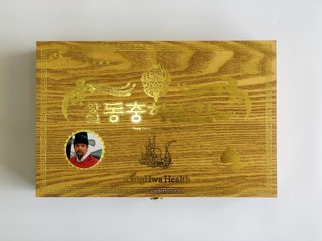 Viên Đông Trùng Hạ Thảo KangHwa hộp gỗ vàng - Nutri